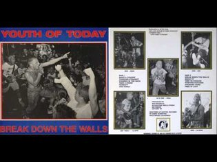 Youth Of Today - Break Down The Walls [Full Album] 1986