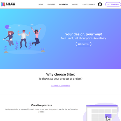 Design professional websites | Silex website builder