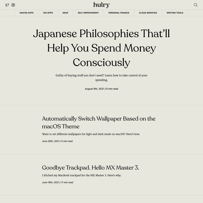 Hulry — Self-improvement, made simple.