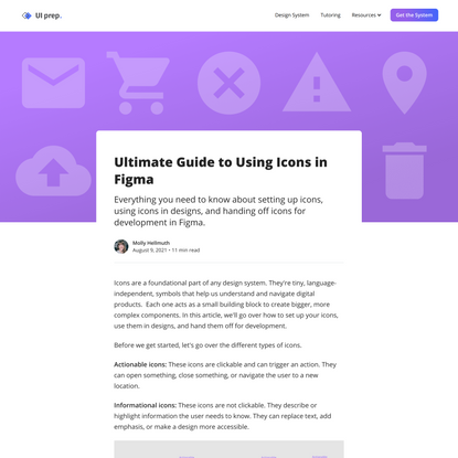 Ultimate Guide to Using Icons in Figma