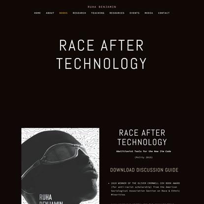 Race After Technology — Ruha Benjamin