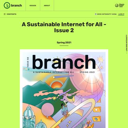 Issue 2 Spring 2021 - Branch