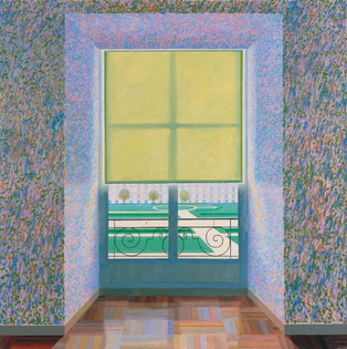 David Hockney, Contrejour in the French Style, 1974 (Ludwig Museum)