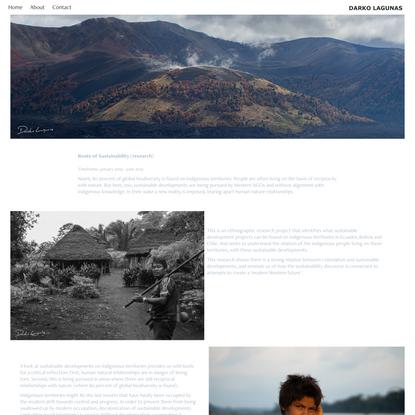 Darko Lagunas - roots of sustainability
