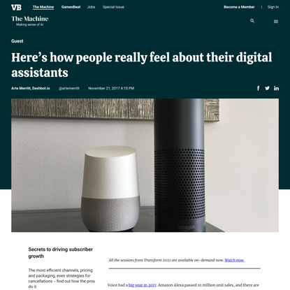 Here's how people really feel about their digital assistants