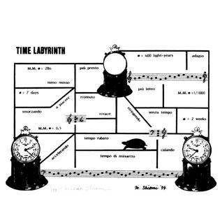 Mieko Shiomi, Time Labyrinth (1994)
