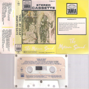 Here, My Dear cassette