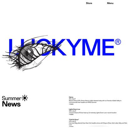 Home — LUCKYME®