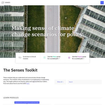 Senses Toolkit