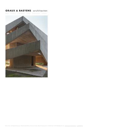 GBA   GRAUX & BAEYENS architecten
