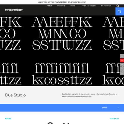 Due Studio Archives - Type Department