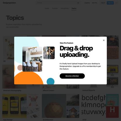Explore Ideas & Inspiration on Designspiration