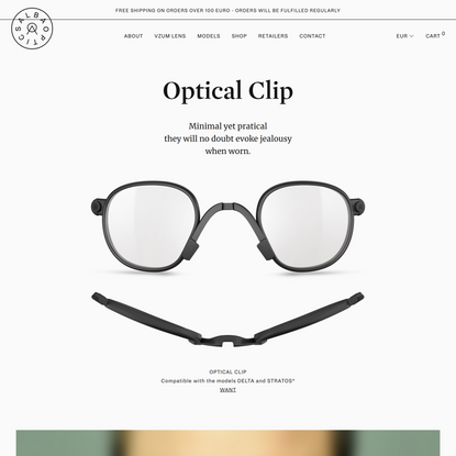 Optical Clip • ALBA OPTICS