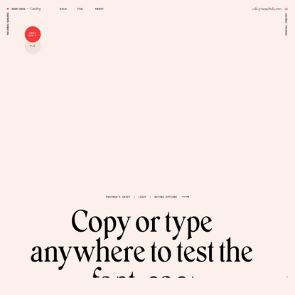 Postman's Serif