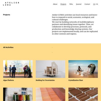 Projects   Atelier Luma