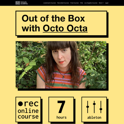 Out of the Box with Octo Octa   IO Music Academy