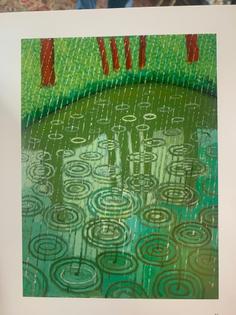 "david hockney 2020 from ""ma normandie"" exhibition catalog"
