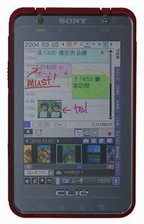 Sony CLIÉ PEG-TH55
