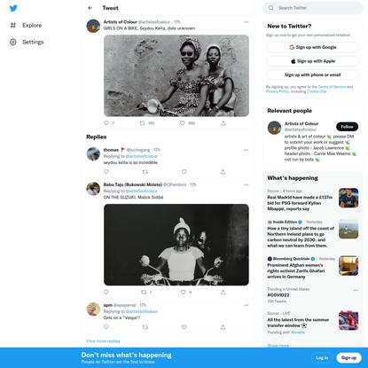 "Artists of Colour on Twitter: ""GIRLS ON A BIKE, Seydou Keita, date unknown pic.twitter.com/PRm8OZM6Ii / Twitter"""