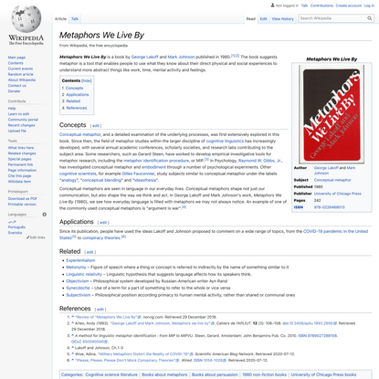 Metaphors We Live By - Wikipedia