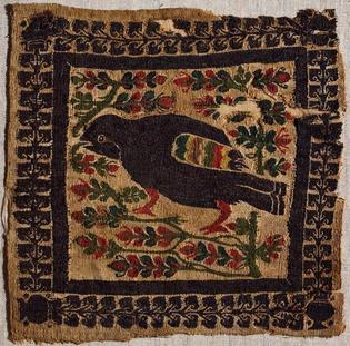Coptic textile, 6th - 10th century.