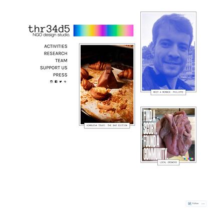 thr34d5 – NGO design studio
