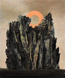 Max Ernst  Forest and Sun, 1926