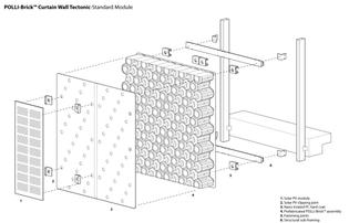 POLLI-Brick Curtain Wall Modules