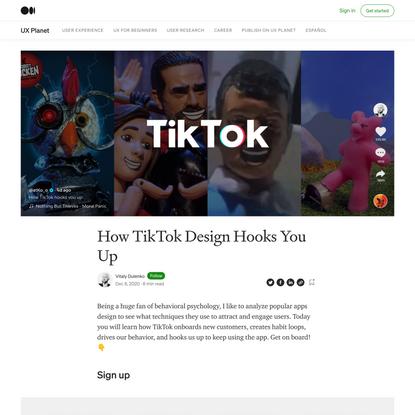 How TikTok Design Hooks You Up