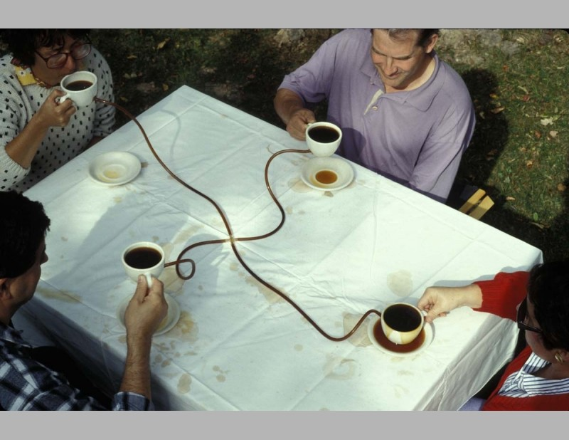 Allan Wexler - Coffee Seeks Its Own Level, 1990