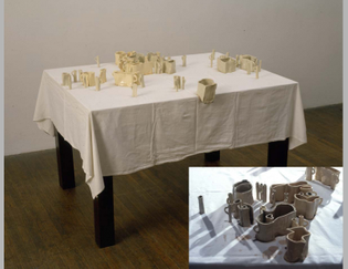 Allan Wexler - Coffee Stained Coffee Cups, 1991