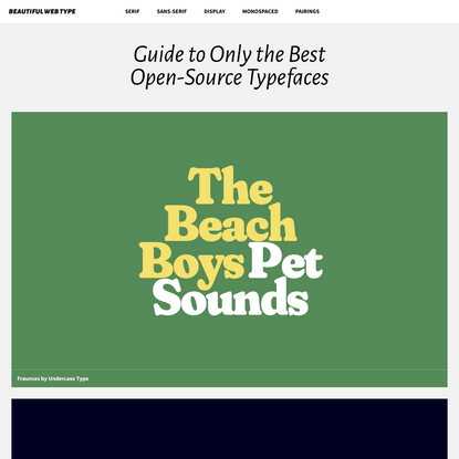 In-Depth Guide to the Best Free Fonts
