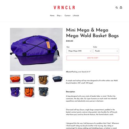 Mini Mega & Mega Mega Wald Basket Bags