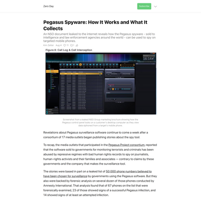 Pegasus Spyware: How It Works and What It Collects