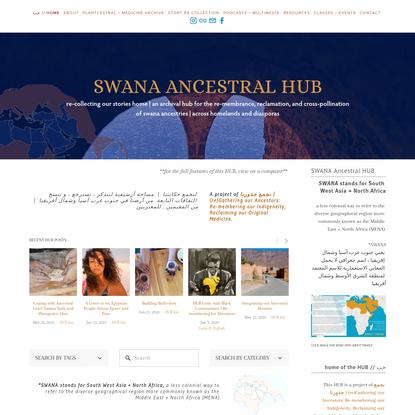 SWANA Ancestral HUB