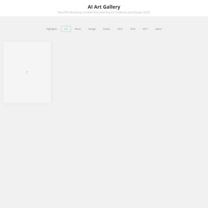 Art 2020 Archives - AI Art Gallery
