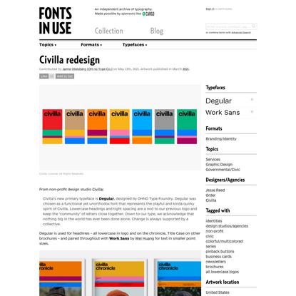 Civilla redesign