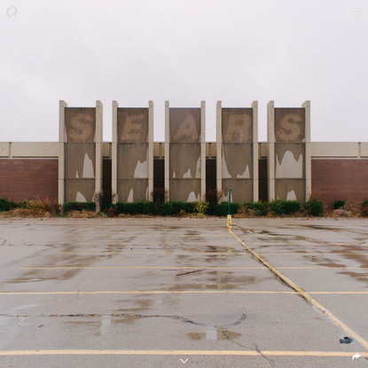 An ode to the dying American mall