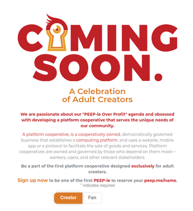 PeepMe is Coming Soon. Sign Up to join the celebration!