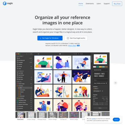 Eagle - Organize all your reference images in one place