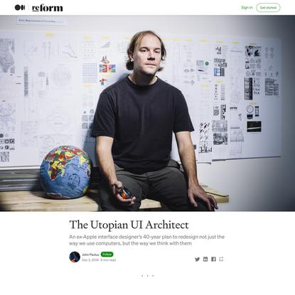 The Utopian UI Architect