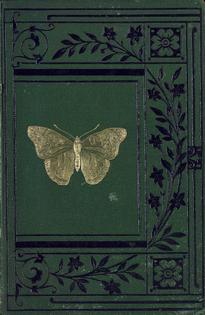 gothic garden entomology vintage book cover