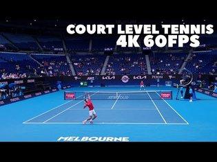 Novak Djokovic vs Denis Shapovalov (4K 60FPS) MATCH HIGHLIGHTS Court Level View 2021 ATP CUP