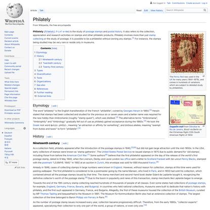 Philately - Wikipedia