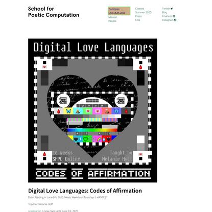 Participate | School for Poetic Computation
