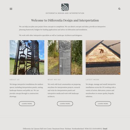 Differentia Design - Home