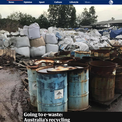 Going to e-waste: Australia's recycling failures and the challenge of solar