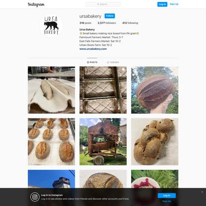 Ursa Bakery (@ursabakery) on Instagram