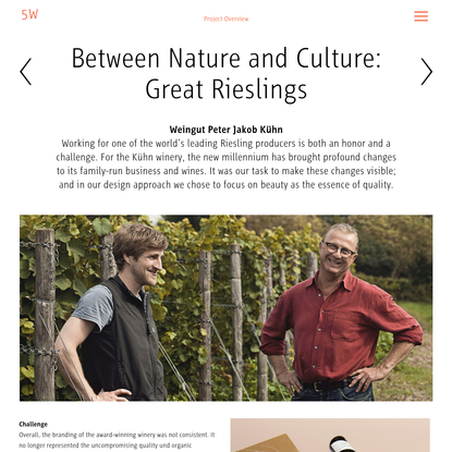 Between Nature and Culture: Great Rieslings