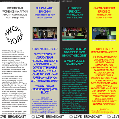 RMIT Design Hub | Workaround